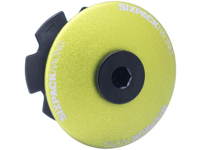 "Sixpack Menace Aheadcap 1 1/8"", electric green"